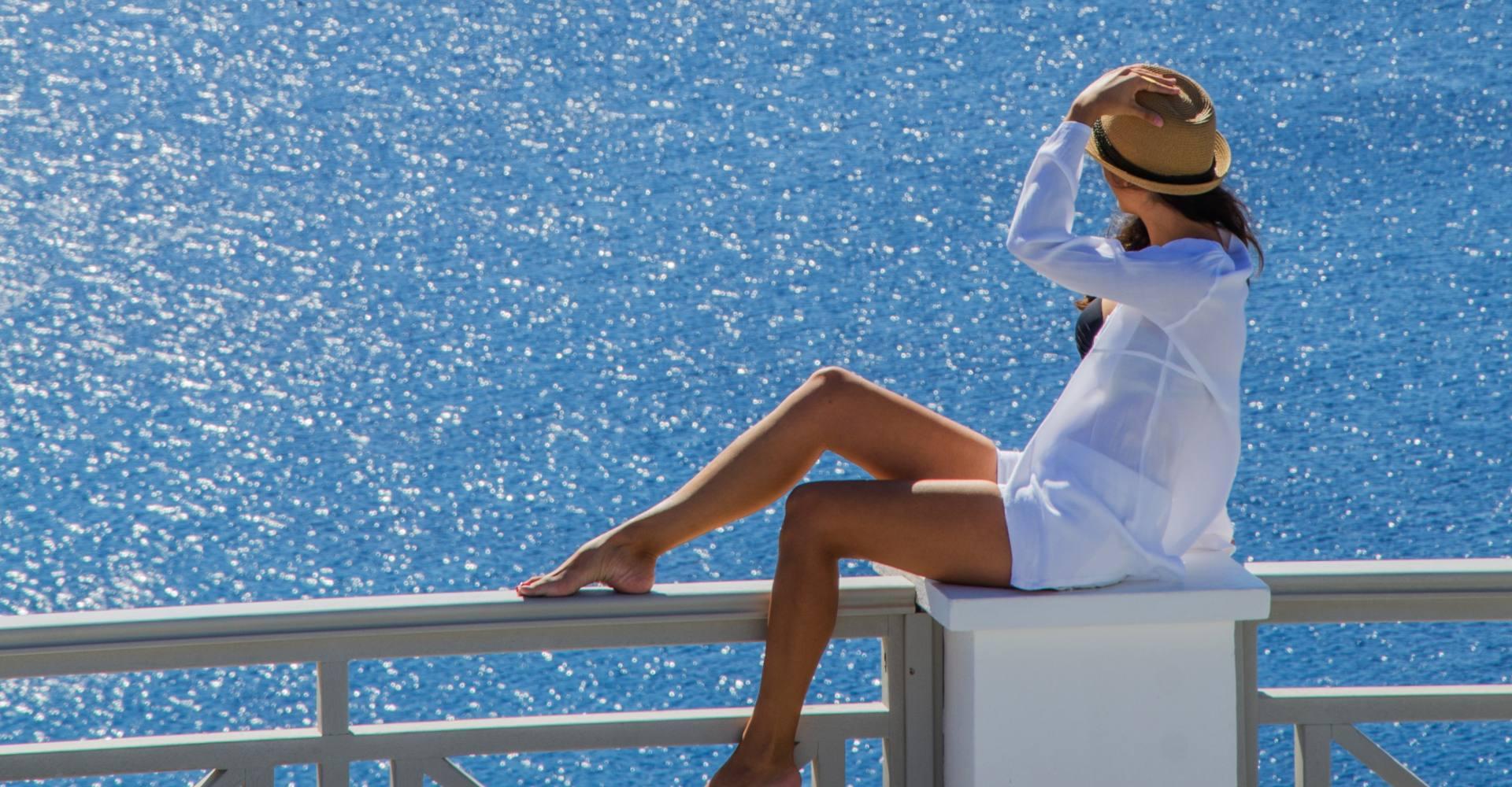 Ios Hotel Katerina at Mylopotas on Ios Island Greece