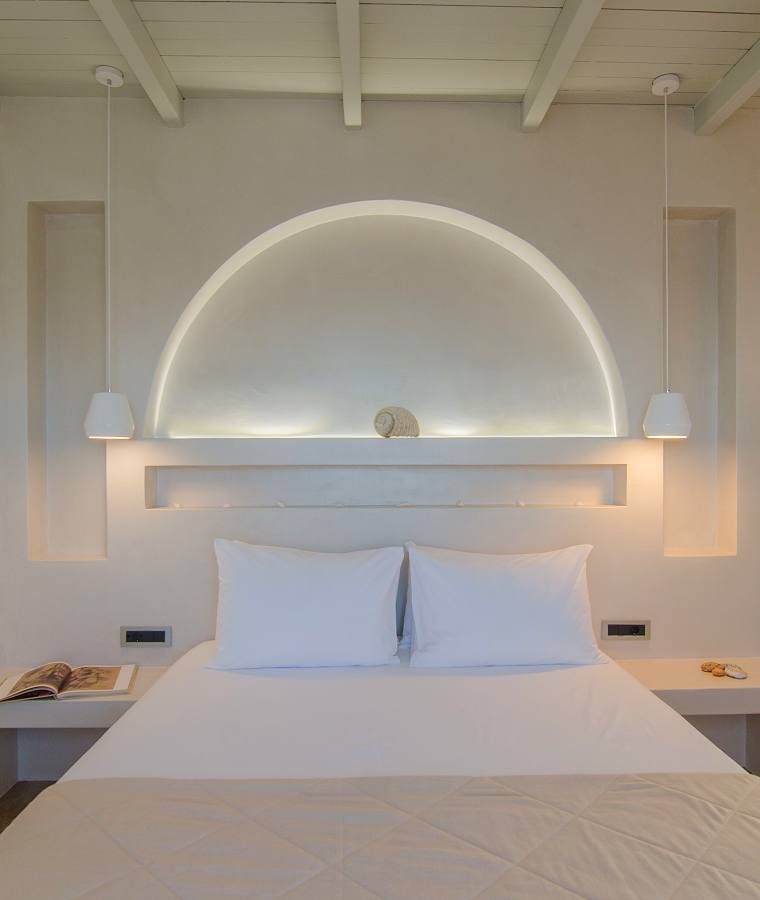 Room at Katerina Hotel on Ios Island